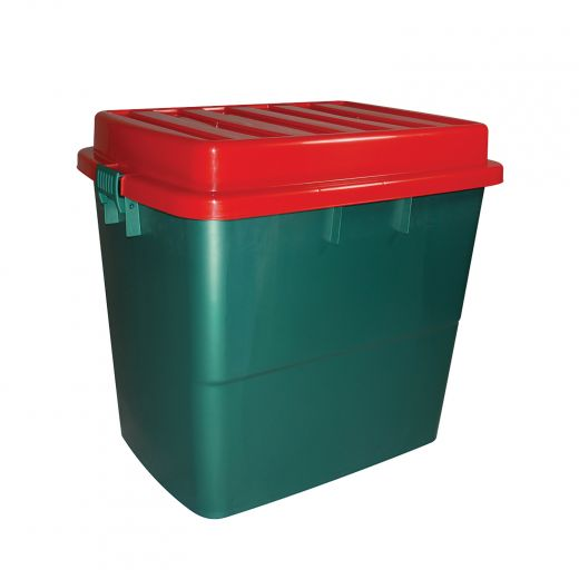 Storage Tote With Domed Lid- 210L (55G)