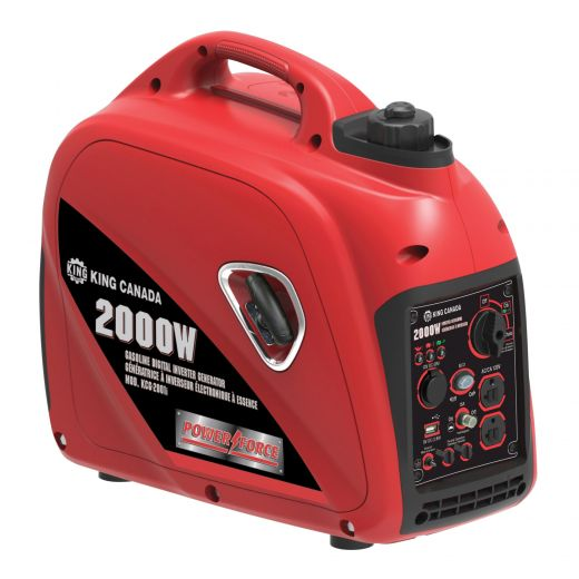2000W Gasoline Digital Inverter Generator