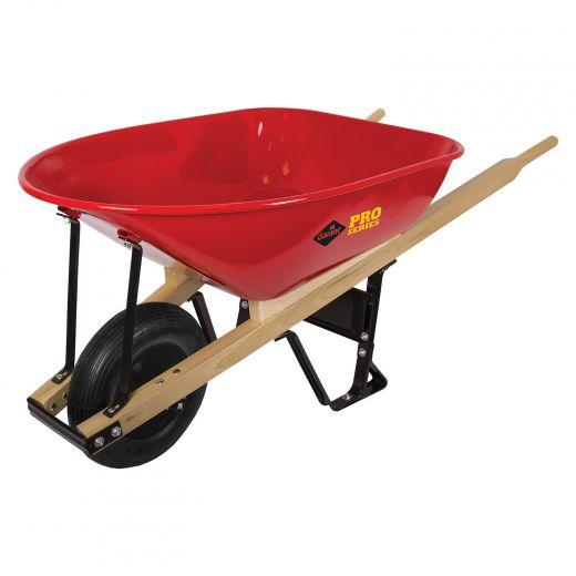 Heavy Duty Contractor Wheelbarrow 6 Cu Ft