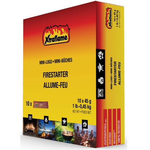 Xtraflame Minilog Firestarter-10/Pack