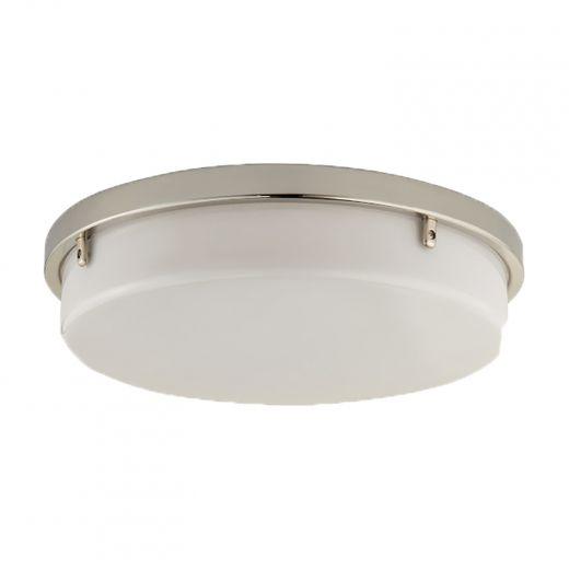 110 CFM Round Decorative Ventilation Fan Light