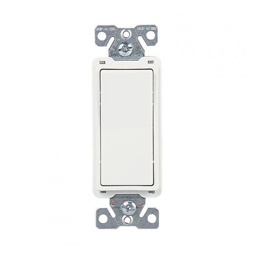 4-Way White LED Rocker Light Switch