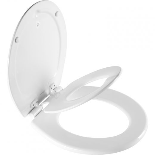 NextStep2 Round Toilet Seat With Built In Potty Seat