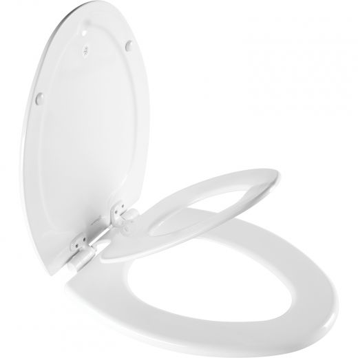 NextStep2 Elongated Toilet Seat With Built In Potty Seat