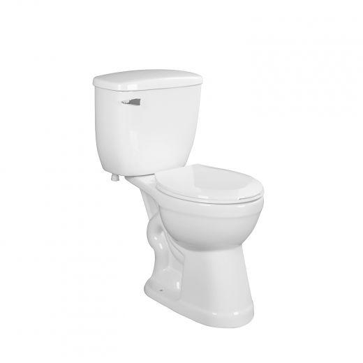 Bainbridge Round Toilet 6L Kit-2/Piece