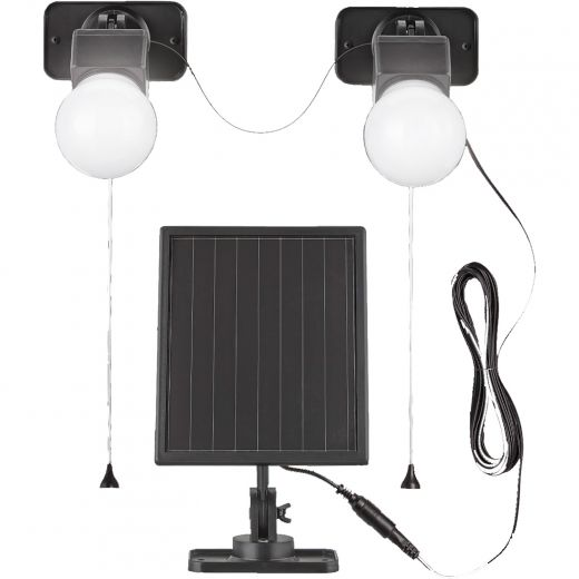 Solar Dula Gazebo-Shed Light