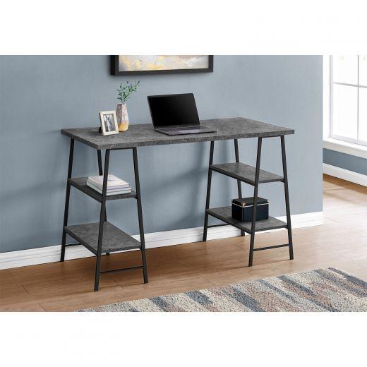 "48"" Concrete Top Desk"