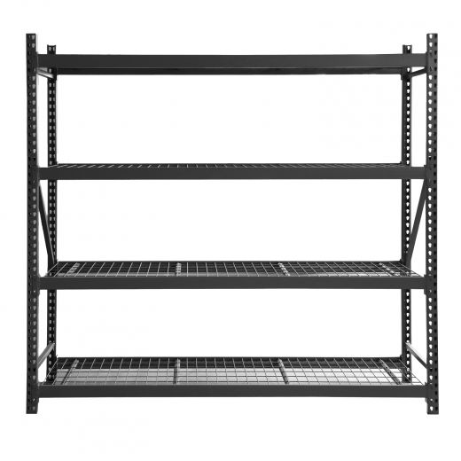 Industrial Shelving With 4 Shelves