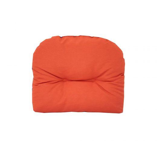 Reversable Athens Chair Cushion-Orange