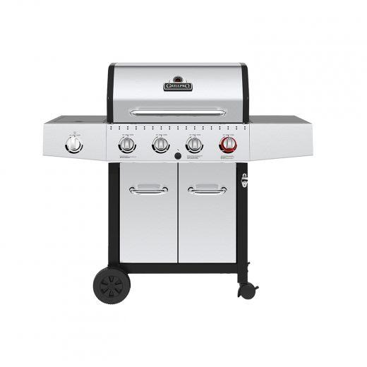 GrillPro 42,000 BTU Gas BBQ With Sear Burner And Side Burner