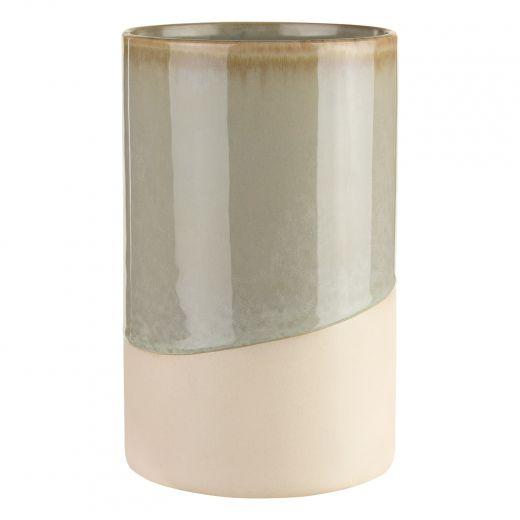 """6.5"""" Gray Vase Pot"""