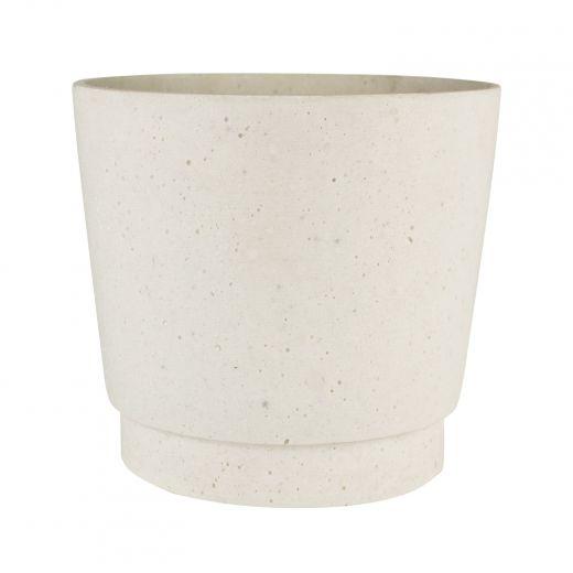 """6"""" White Stepped Pot"""