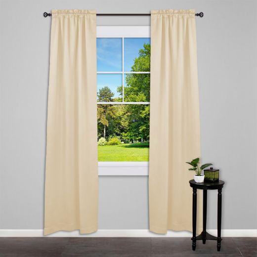 """5/8"""" - 48"""" - 84"""" Agatha Orb Curtain Rod"""