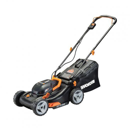 "Worx 40V Power Share 17"" Lawn Mower"