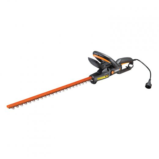 """Worx 4.5 Amp 24"""" Rotating Head Electric Hedge Trimmer"""