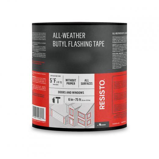 "6"" x 75' All Weather Butyl Flashing Tape"