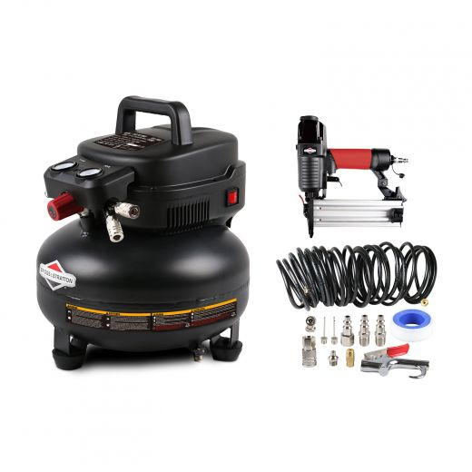 Briggs & Stratton 6 Gallon Pancake Air Compressor Combo Kit