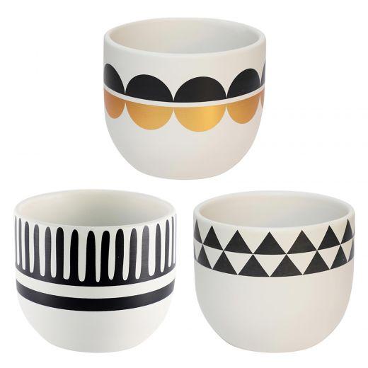 """4.5"""" Modern Design Pot-4 Assorted"""