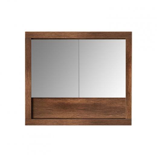 """August 30"""" Mirror Cabinet Walnut"""