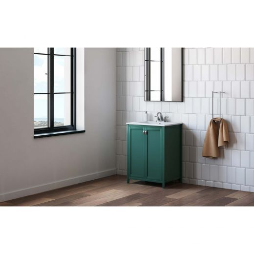 """24"""" Manchester Willow Green Vanity"""