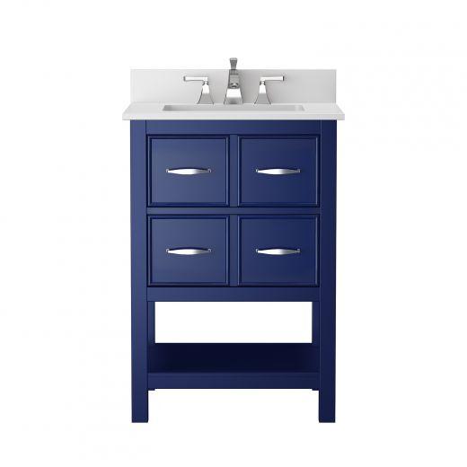 24' Vienna Navy Blue Vanity