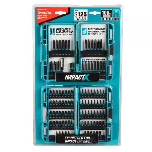 100-Piece Makita Impactx Accessory Kit