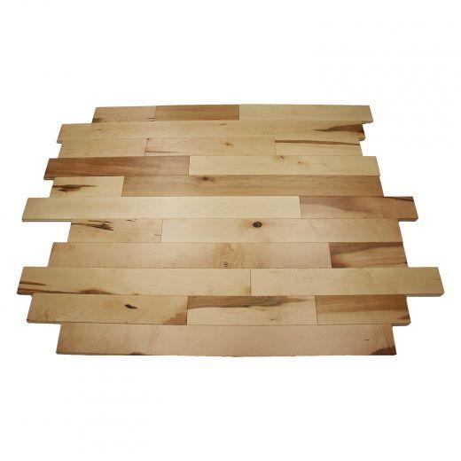 "4-1/4"" Hard Maple Rustic Hardwood Flooring 20 Sq-ft/Box"