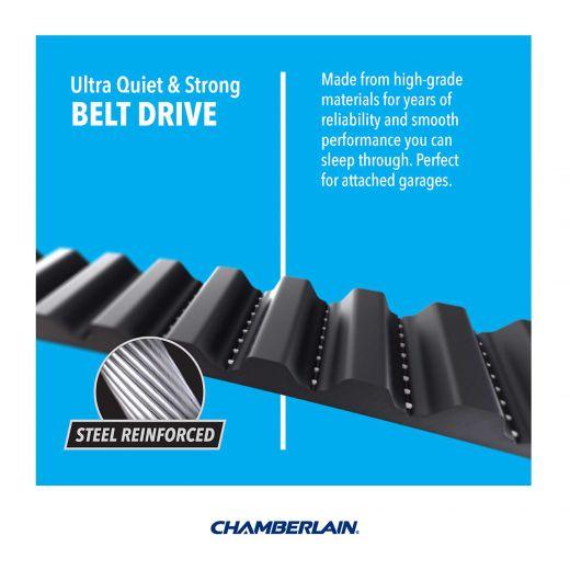 1/2HP Belt Drive MyQ Smart Garage Door Opener
