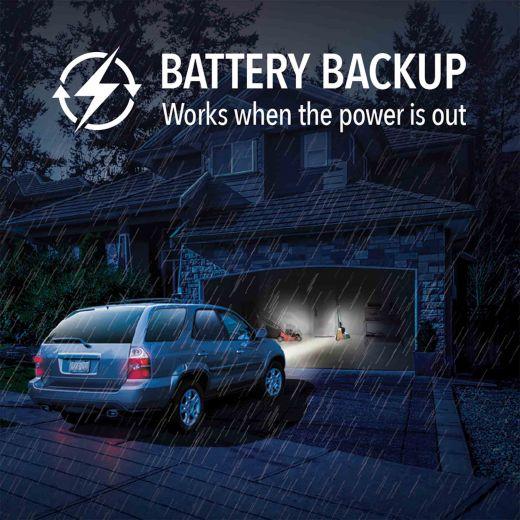 1-1/4HP Belt Drive MyQ SecureView Camera Garage Door Opener