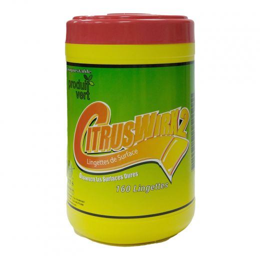 Ciruswirx Canister 160 Count Disinfect Wipes
