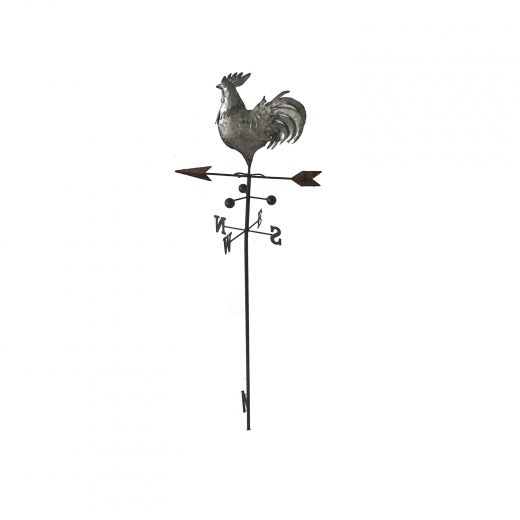 Rooster Weather Vane Garden Stake