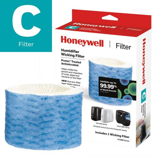 Certified Honeywell Humidifier Replacement Wicking Filter, F