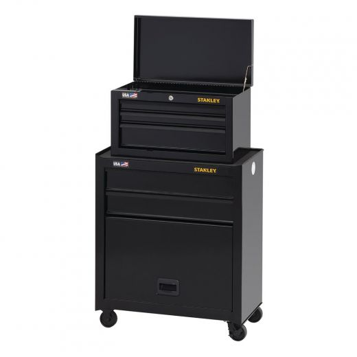 """100 Series 26"""" 5 Drawer Tool And Chest Center-Black"""