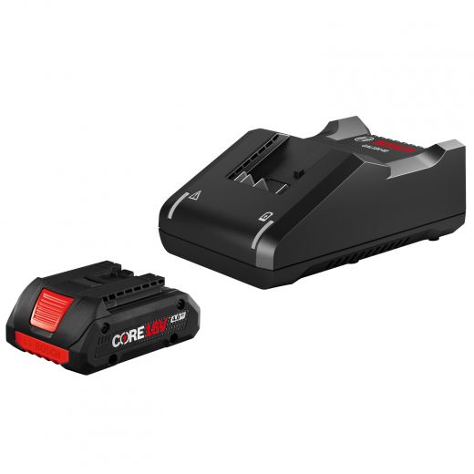 18V Fast Charger And 4Ah Core Battery Starter Kit