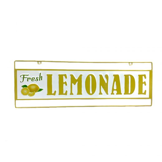 Fresh Lemonade Plaque