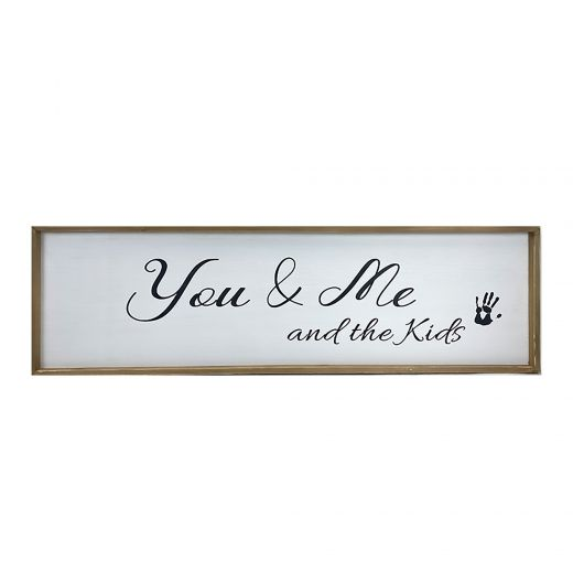 You and Me Kids Sign