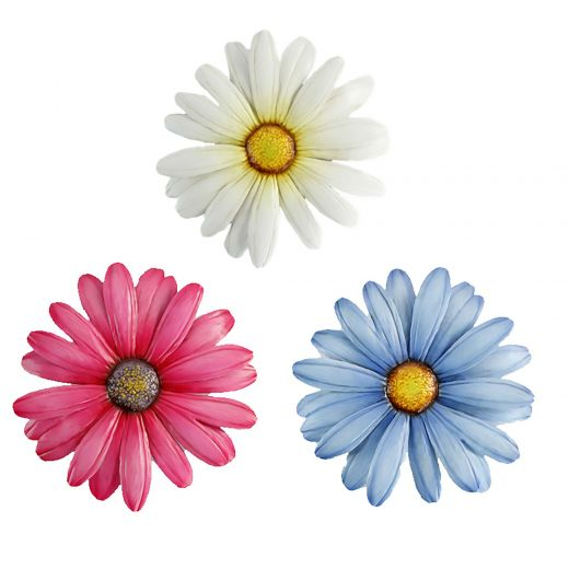 Daisy Wall Plaque- Assorted