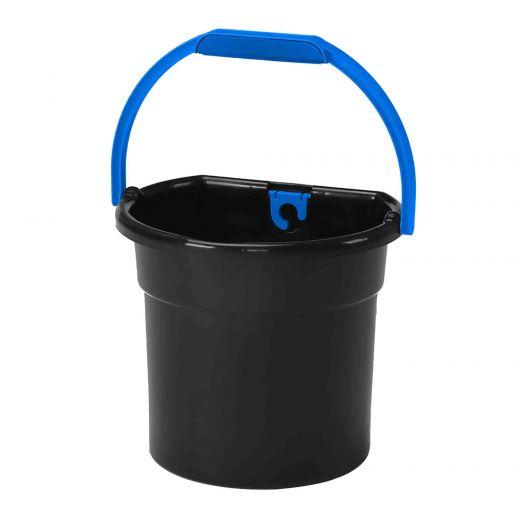 Large Flat Back Bucket With Handle