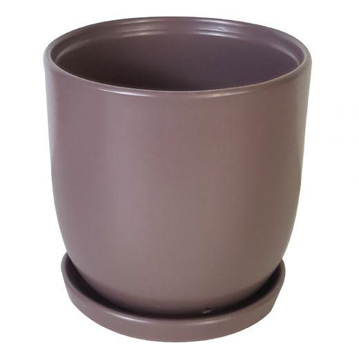 "5.5"" Lavender Chatam Pot"