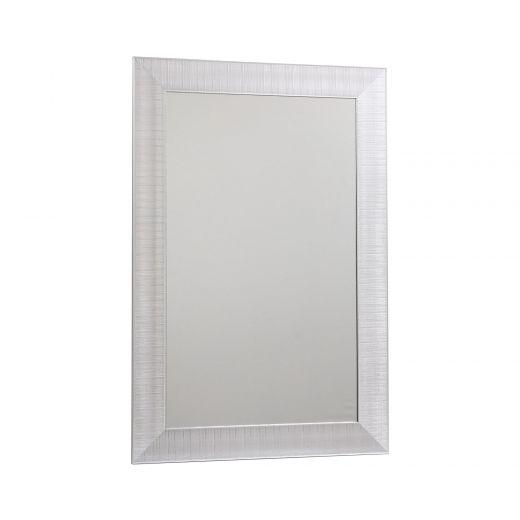 """23"""" X 35"""" Black & Silver Wire Mesh Design Mirrors"""