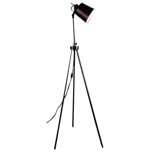 Emy Oil Bronze Floor Lamp
