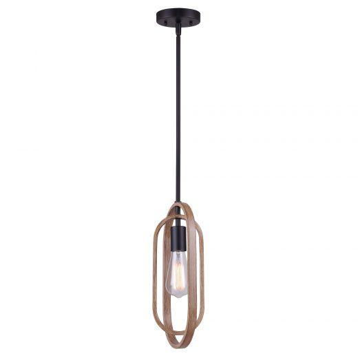 Dilan Brushed Brown 1 Light Pendant