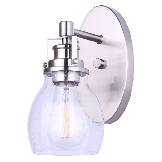Carson Brushed Nickel- 1 Light