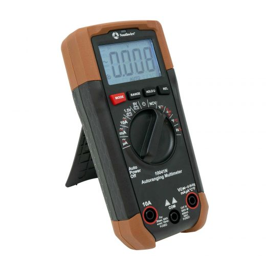 Auto-Ranging Multimetre
