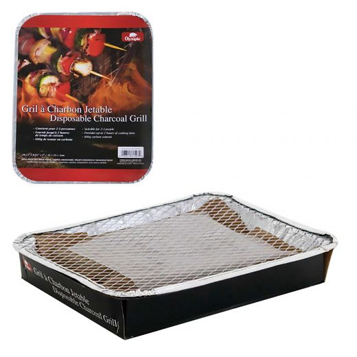 Disposable Charcoal Grill 2-3 Person