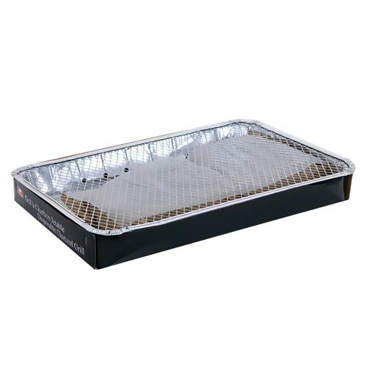Disposable Charcoal Grill 5-6 Person