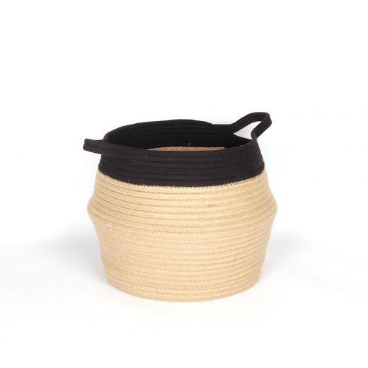 Jute Belly Basket-28 Cm
