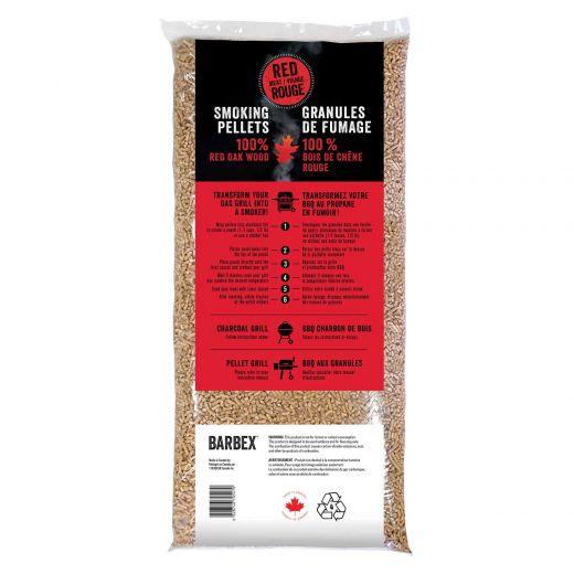 100% Red Oak Smoking Pellets For Red Meats-20lb/Bag
