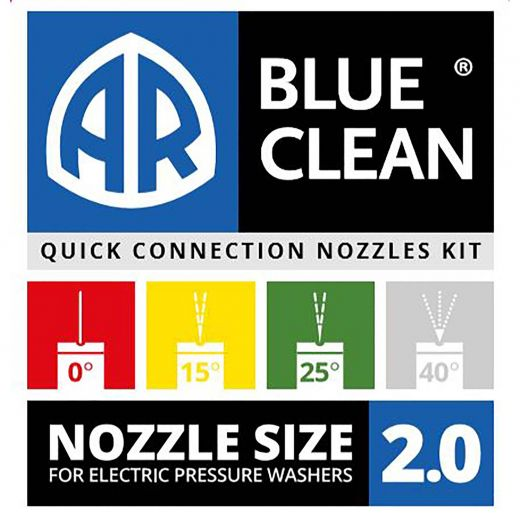 4 Piece Nozzle Kit For Electric Pressure Washers