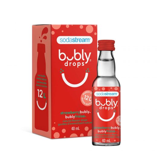 Bubly Strawberry Flavouring Mix 40ML